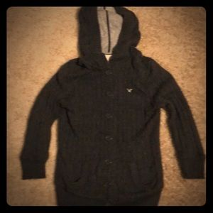 American Eagle Charcoal Gray Girls Sweater